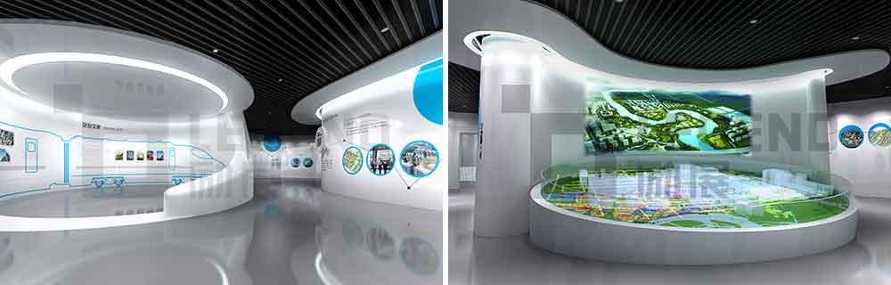励展展馆设计  展厅设计 展示设计